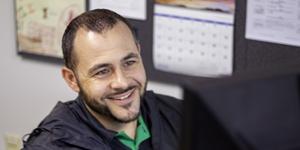 UIT Employee James smiling