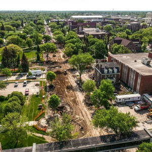 University Avenue construction project